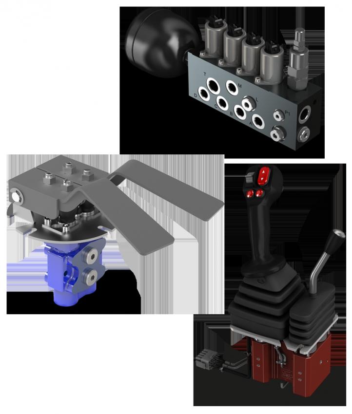 Control remoto hidraulico