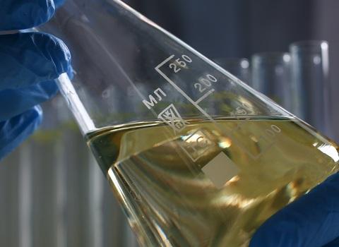 Análisis y filtración de aceite