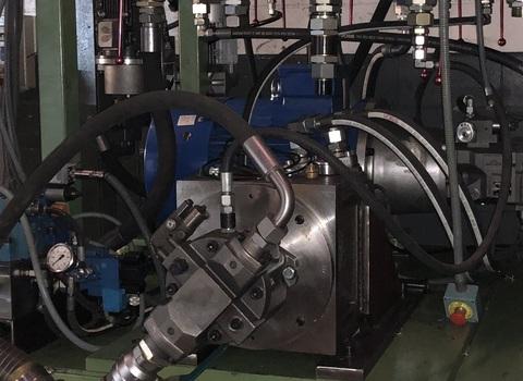 Banco de pruebas hidráulicas
