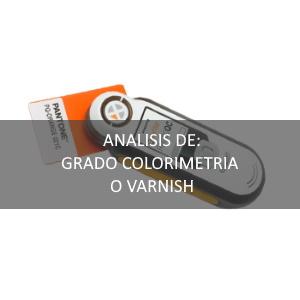 Determinación de Barnices (Varnish)