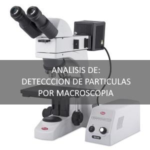 Análisis por microscopía