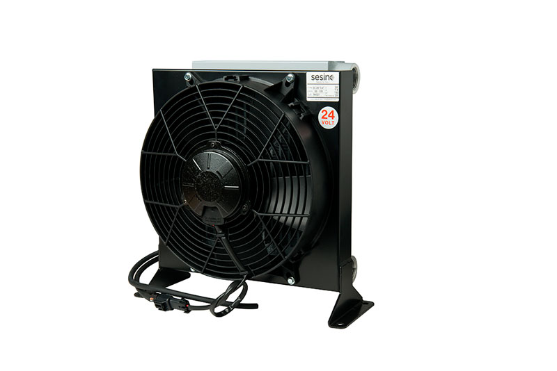 Intercambiador, Aire-aceite. BC 250 12V