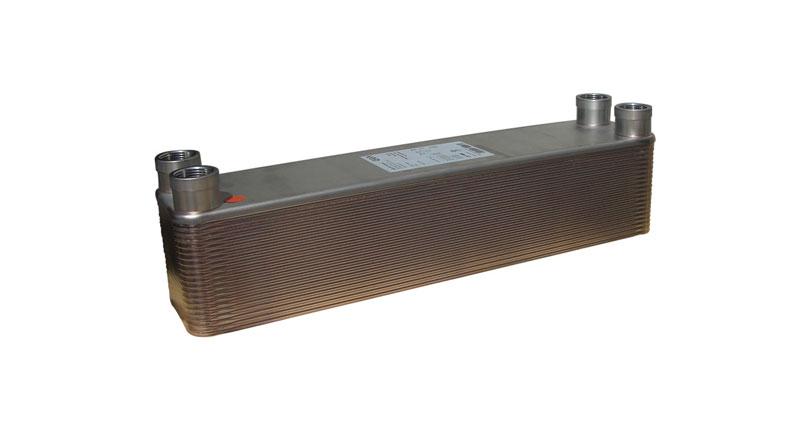 Intercambiador, de placas, agua-aceite. M25-30