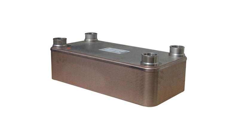 Intercambiador, de placas, agua-aceite. M55-40