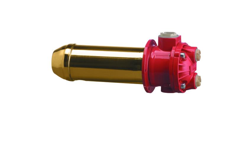 Intercambiador, Agua-aceite sumergido. MS 84 CF2