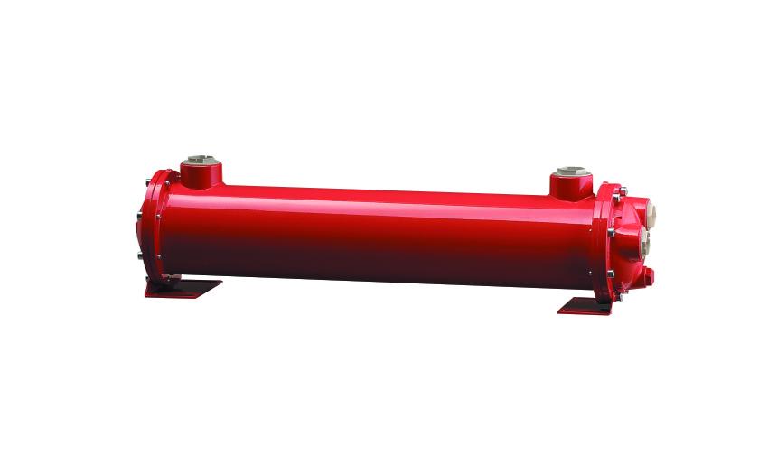 Intercambiador, Agua-aceite uso marino. MS 134 P2 Cu-Ni