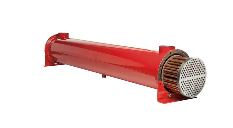 Intercambiador, Agua-aceite .Haz de tubos extraible. . MS 202 P10