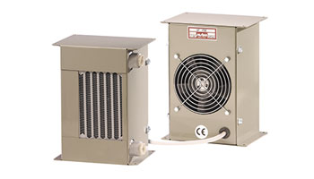 Intercambiador, Aire-aceite. AP 178 E 24V corrente continua/direct current