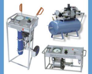 Grupo completo para gases