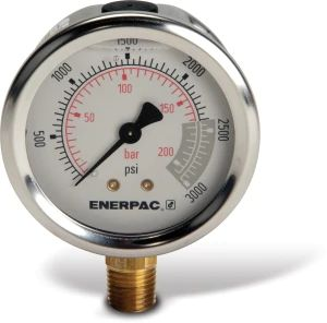 GAUGE GLYCERINE 3000 PSI 2.5 IN