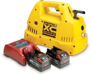 Cordless Pump Kit, 2L, 3/2 Man. Valve, 230V Charger