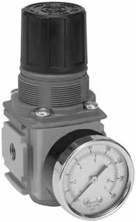 Regulador de aire, con manómetro 0-10 bar: G3/8. 4680 lN/M